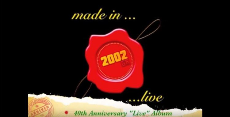 2002Gr 40th Anniversary-Live Album